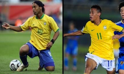 Ronaldinho e Neymar