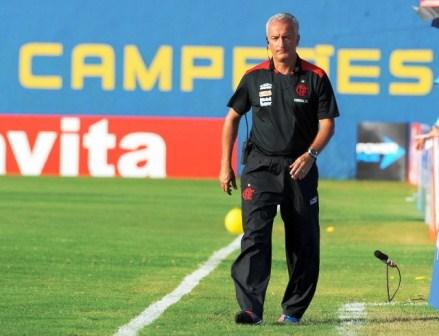 Diretoria do Fla procura por outro treinador (crédito: flamengo.com.br)