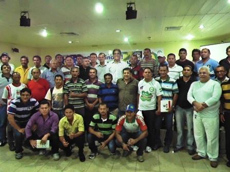Reunião contou com bom números de participantes (crédito: assessoria da FAF)